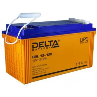 Аккумулятор Delta HRL 12-120 X