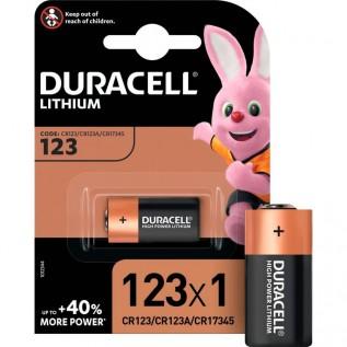 Элемент питания DURACELL Ultra 123 1шт