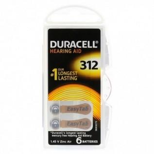 Элемент питания Duracell A312\PR41
