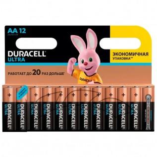Элемент питания DURACELL Ultra LR6 (АА) 12шт