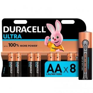 Элемент питания DURACELL Ultra LR6 (АА) 8шт