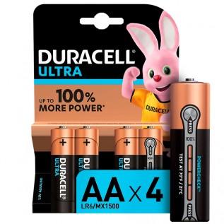 Элемент питания DURACELL Ultra LR6 (АА) 4шт