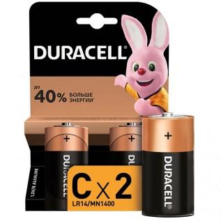 Элемент питания DURACELL Basic LR14 (С) 2шт