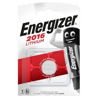 Элемент питания Energizer CR2016 1шт