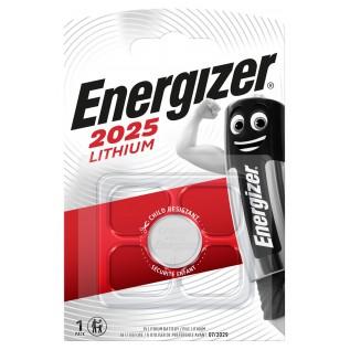 Элемент питания Energizer CR2025 1шт