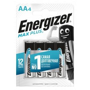 Элемент питания Energizer Max Plus LR6 (AA) 4BL