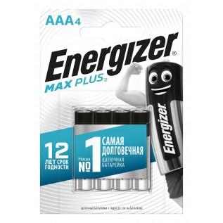 Элемент питания Energizer Max Plus LR03 (AAA) 4BL