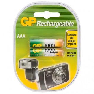 Аккумулятор GP HR03 1000 mah 2шт