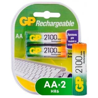 Аккумулятор GP HR6 2100 mah 2шт