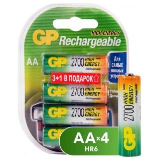 Аккумулятор GP HR6 2700 mah 4шт