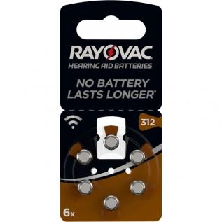 Элемент питания Rayovac A312\PR41