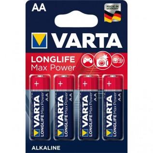 Элемент питания VARTA LONGLIFE MAX POWER AA бл. 4