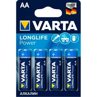 Элемент питания VARTA LONGLIFE POWER AA бл. 4