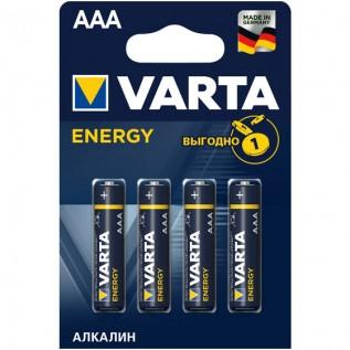 Элемент питания VARTA ENERGY AAA бл. 4