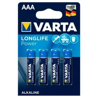 Элемент питания VARTA LONGLIFE POWER AAA бл. 4