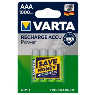 Аккумулятор Varta HR03 1000 mah 4шт